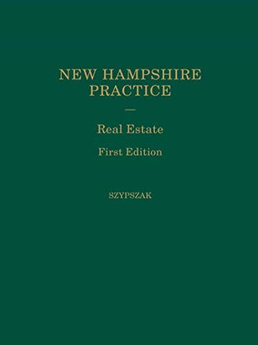9780327162667: 17: New Hampshire Practice: Real Estate