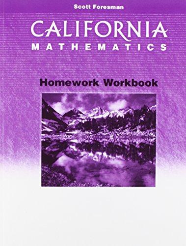 9780328008797: California Mathematics Homework: Grade 5