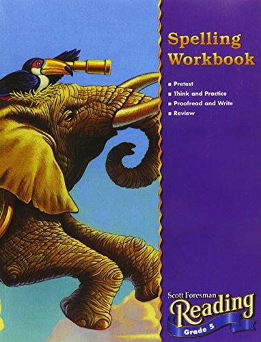 9780328016532: READING 2000 SPELLING WORKBOOK GRADE 5