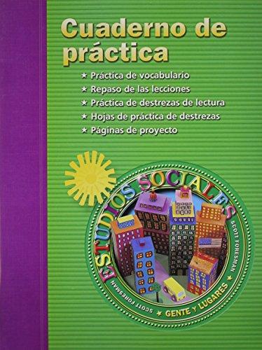 9780328019335: Estudios Sociales Cuaderno de Practica (Spanish Edition)