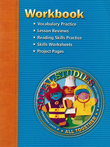 9780328019380: Social Studies: Workbook, Level 1