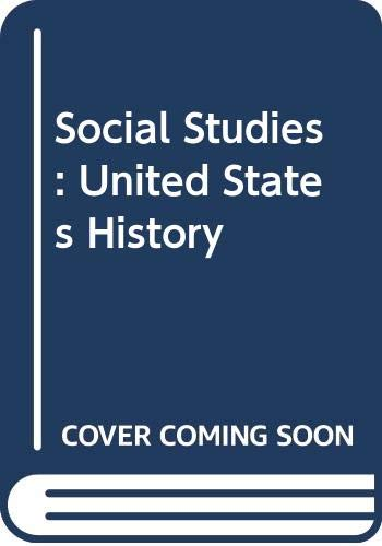 9780328019427: Social Studies: United States History Workbook