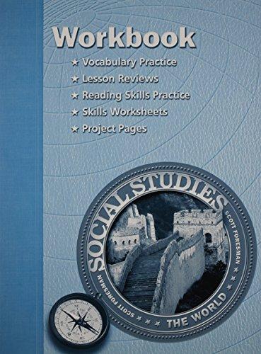 9780328019458: SOCIAL STUDIES 2003 WORKBOOK GRADE 6 WORLD HISTORY