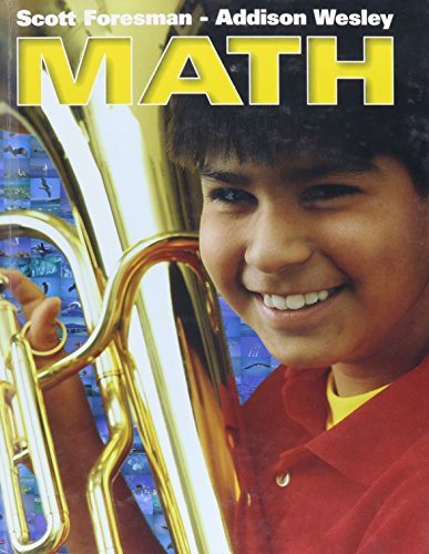 9780328021840: SCOTT FORESMAN ADDISON WESLEY MATH 2002 PUPIL EDITION GRADE 6