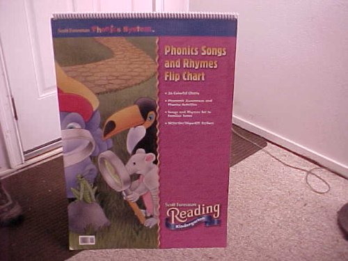 9780328022137: READING 2002 PHONICS SONGS AND RHYMES FLIPCHART GRADE K