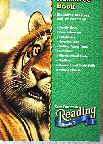 9780328022328: Scott Foresman Reading Grade 3 Teachers' Resource Book