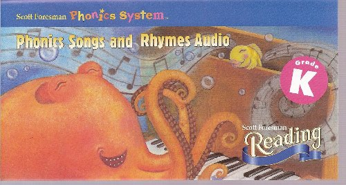 9780328025282: Phonics Songs and Rhymes Audio (Kindergarten, Tapes 1-18)