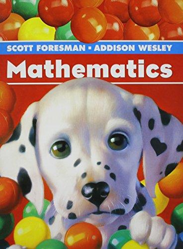 9780328030156: SCOTT FORESMAN MATH 2004 SINGLE VOLUME PUPIL EDITION GRADE K