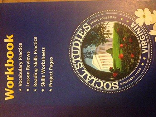 Work Book Social Studies Virginia (2001 publication)
