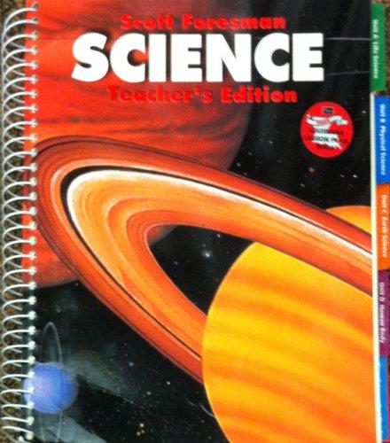 9780328034550: Scott Foresman Science Teacher S Edition Grade 4