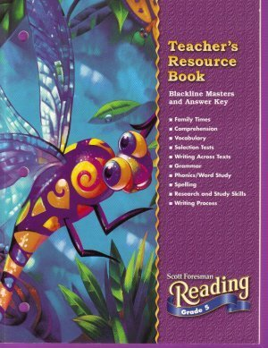 9780328040612: Teachers Resource Book Grade 5 Reading (Scott Foresman Reading)