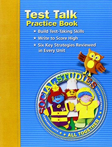 9780328041077: Social Studies: Test Talk Practice Book, Grade 1