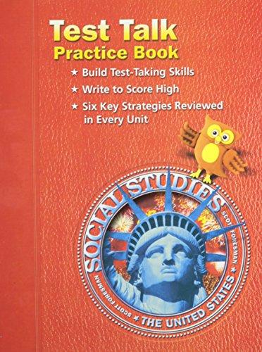 9780328041114: SOCIAL STUDIES 2003 TEST TALK PRACTICE BOOK GRADE 5