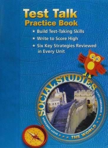 9780328041121: SOCIAL STUDIES 2003 TEST TALK PRACTICE BOOK GRADE 6