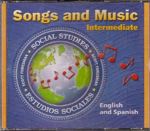 9780328043392: Scott Foresman Songs and Music (Intermediate, Social Studies English and Spanish) by Scott Foresman (2003-05-03)