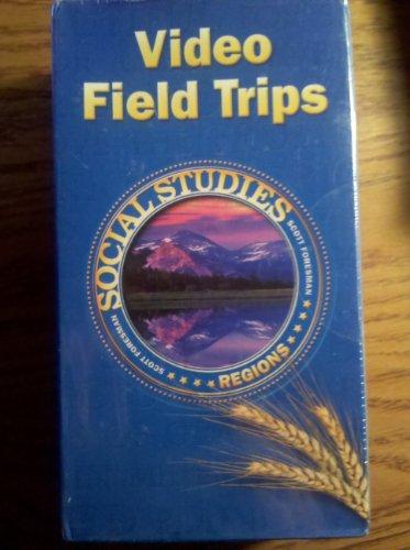 SOCIAL STUDIES 2003 VIDEO FIELD TRIPS PACKAGE GRADE 4 REGIONS [VHS]: Scott Foresman
