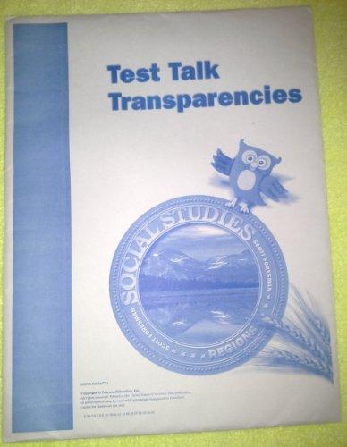 9780328048779: Test Talk Transparencies - Social Studies Regions