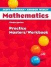 9780328049523: Scott Foresman-Addison Wesley Mathematics, Grade K: Practice Masters / Workbook