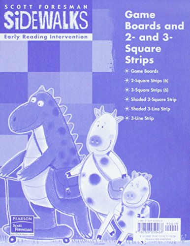 9780328050468: EARLY READING INTERVENTION GAME PACKAGE