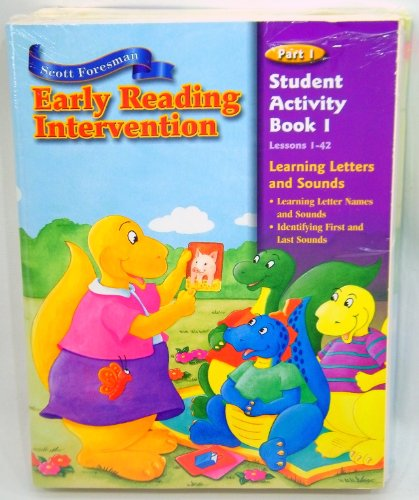 9780328050574: EARLY READING INTERVENTION STUDENT ACTIVITY BOOK PART 1
