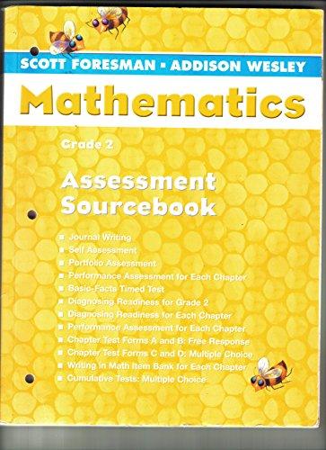 9780328055210: Assessment Sourcebook Grade 2 (Scott Foresman-Addison Wesley Mathematics)