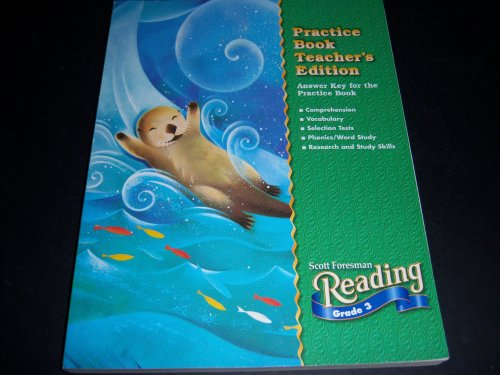 9780328056552: Scott Foresman Reading Grade 2 Practice Book TEACHER'S Edition; Answer Key for the Practice Book