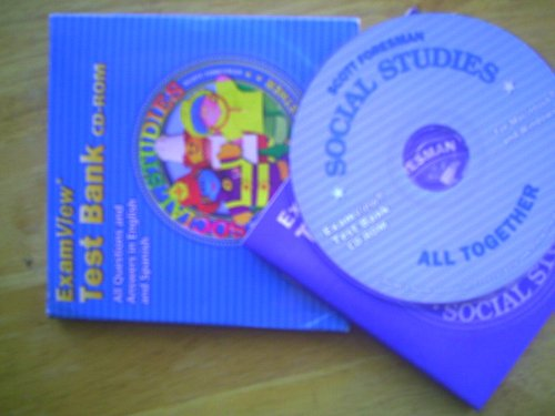 Pearson/Scott Foresman Social Studies All Together Grade 1 Exam View: Scott Foresman
