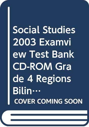 9780328056675: SOCIAL STUDIES 2003 EXAMVIEW TEST BANK CD-ROM GRADE 4 REGIONS BILINGUAL