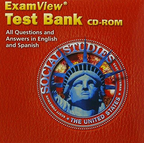 9780328056682: SOCIAL STUDIES 2003 EXAMVIEW TEST BANK CD-ROM GRADE 5 BILINGUAL