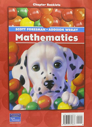 9780328075867: SCOTT FORESMAN ADDISON WESLEY MATH 2004 PUPIL EDITION CHAPTERS 1 THROUGH 12 PACKAGE GRADE K