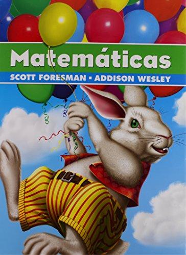 9780328081264: SCOTT FORESMAN ADDISON WESLEY MATH 2005 SPANISH STUDENT EDITION GRADE 1