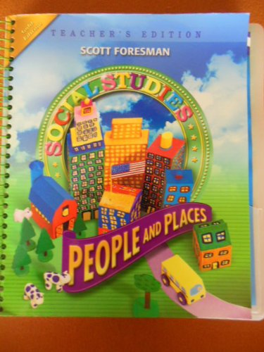 9780328081622: People and Places Grade 2, Teacher's Edition