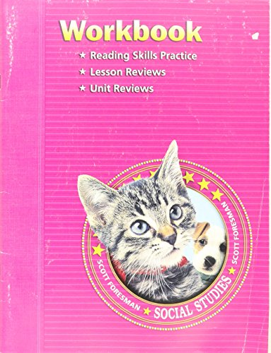 9780328081738: Social Studies Workbook Grade K