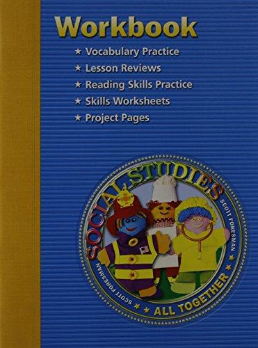 9780328081745: SS05 WORKBOOK GRADE 1 (Scott Foresmen Social Studies 2005, Grade 1)