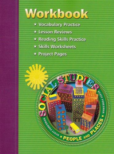 9780328081752: Scott Foresmen Social Studies Workbook, Grade 2