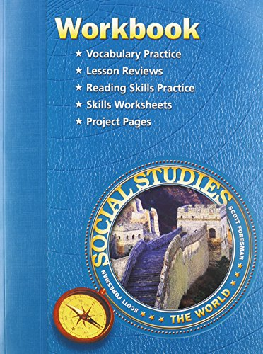 9780328081813: SS05 WORKBOOK GRADE 6 (Scott Foresmen Social Studies 2005)