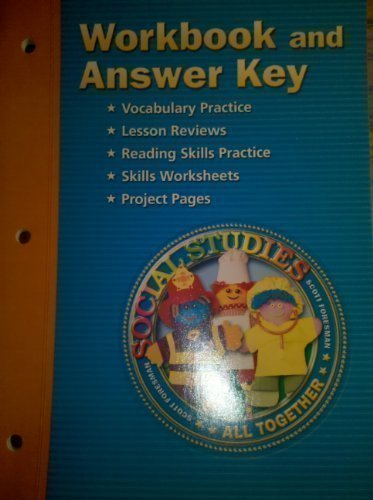 9780328081837: Workbook and Answer Key (Social Studies All Together)