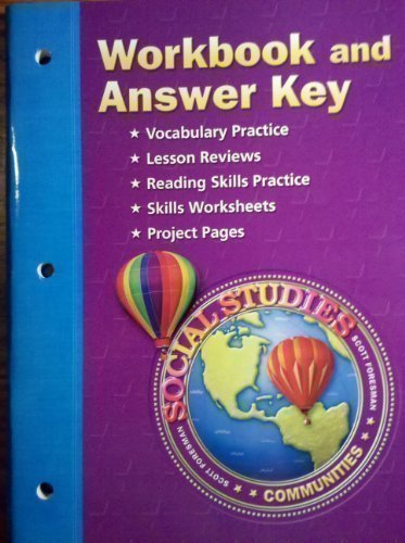 9780328081851: Communities Tn Social Studies Workbook and Answer Key Grade 3 (Scott Foresman)