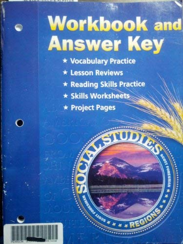9780328081868: Workbook and Answer Key (Social Studies Regions)