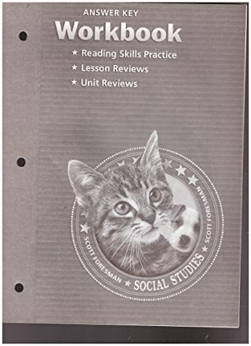9780328081905: Scott Foresman Social Studies: Workbook and Answer Key