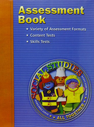 9780328081929: Assessment Book, Grade 1 (Blackline Master)