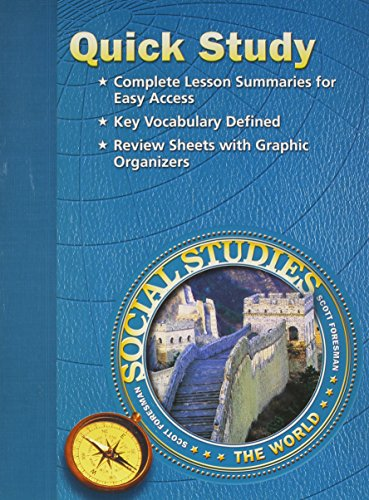 9780328090082: Social Studies 2005 Quick Study Grade 6