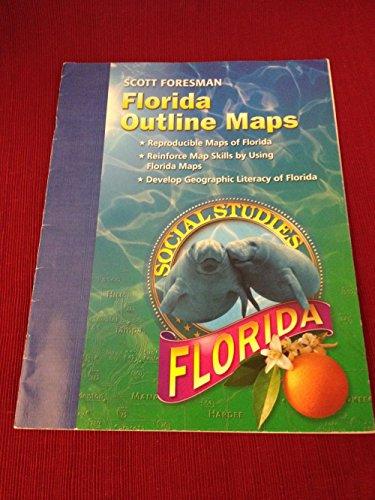 Florida Outline Maps (Florida Social Studies)