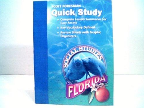 Scott Foresman Quick Study Social Studies Florida