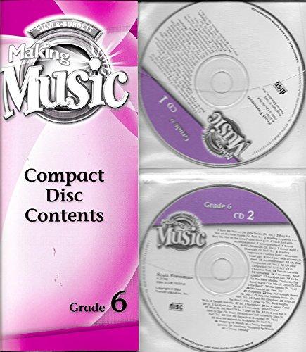 9780328104413: Silver-Burdett Making Music Audio CD Set Grade 6