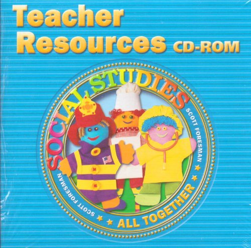 9780328105540: SOCIAL STUDIES 2005 TEACHER RESOURCES CD ROM GRADE 1