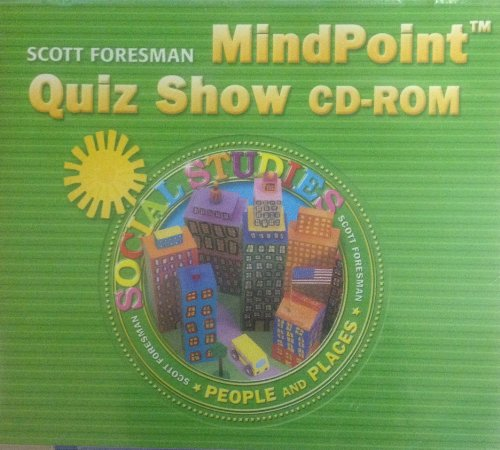 9780328105694: SOCIAL STUDIES 2005 MINDPOINT QUIZ SHOW CD-ROM GRADE 2