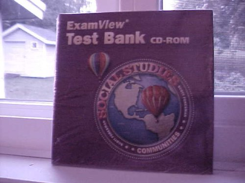 9780328109623: SCOTT FORESMAN SOCIAL STUDIES 2005 EXAMVIEW TEST BANK CD-ROM GRADE 3