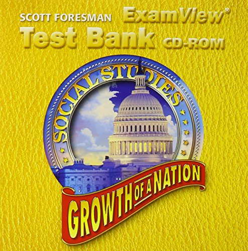 SCOTT FORESMAN SOCIAL STUDIES 2005 EXAMVIEW TEST: Foresman, Scott