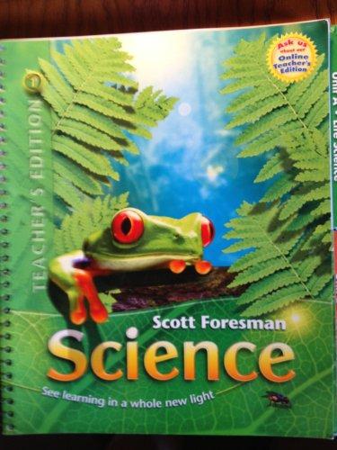 Scott Foresman Science Grade 2 (Teacher's Edition - Volume 1 of 2): Cooney, Timothy